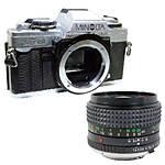 Used Minolta XG-M with Rokkor X 50mm f/1.4 - Good