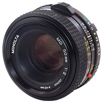 Used Minolta MD 50mm f/2 - Good