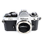 Used Nikon FE2 35mm Film SLR Body Only - Silver [F] - Good