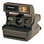 Used Polaroid One Step Close Up 600 Camera - Good