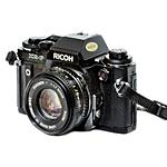 Used Ricoh XR-P 35mm SLR w/ 50mm f/2 Lens - Good