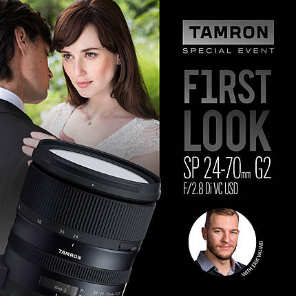 Tamron First Look Launch Event with Erik Valind (Tamron)