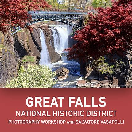 Photographing the Great Falls with Salvatore Vasapolli