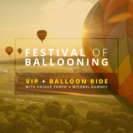 Festival of Ballooning: VIP Registration with Balloon Ride