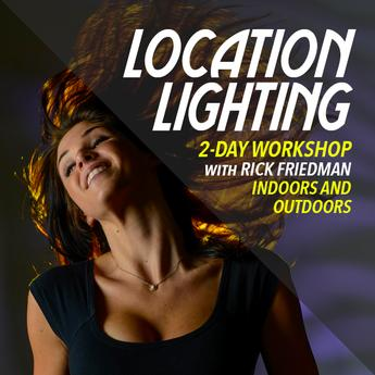 2-Day Indoor and Outdoor Location Lighting with Rick Friedman