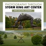 Photograph Through Storm King Art Center with Michael Downey