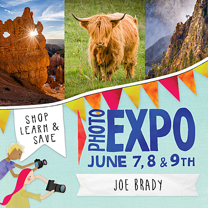 EXPO: Creating Images That Make You Smile with Joe Brady