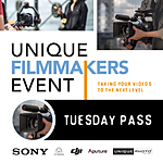 Unique Filmmakers Event: Tuesday Pass