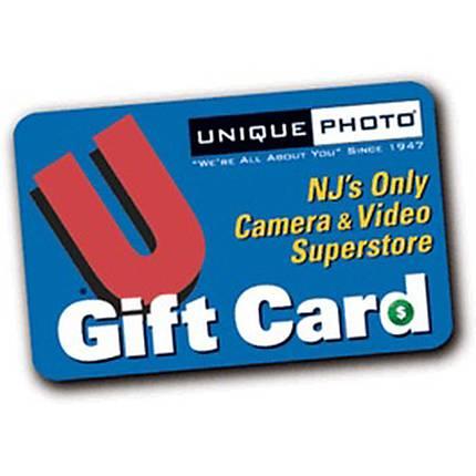 Unique Photo 100 Dollar Gift Card