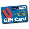 Unique Photo 150 Dollar Gift Card