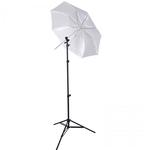 Westcott Collapsible Umbrella Flash Kit - Optical White Satin Diffusion 43in