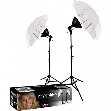 Westcott uLite 2-Light Umbrella Kit
