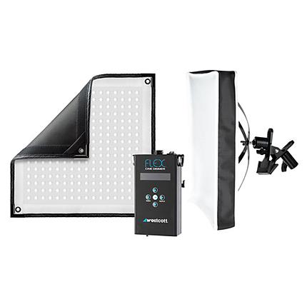 Westcott Flex Cine Daylight LED X-Bracket Kit 1 x 1 ft
