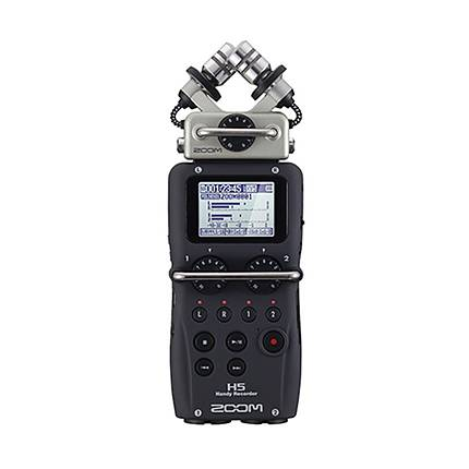 Zoom H5 Handy Recorder with Interchangeable Microphone System