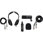 Zoom ZDM-1 Podcast Microphone with Accessories