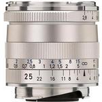 Zeiss Biogon T 25mm f/2.8 ZM Wide Angle Lens - Silver