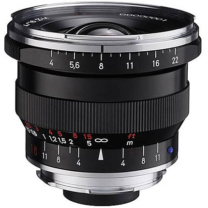 Zeiss Distagon T 18mm f/4.0 ZM Compact Lens - Black