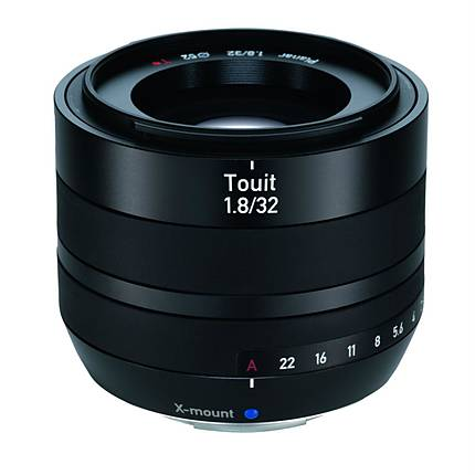 Zeiss Touit 32mm f/1.8 for X-Mount Cameras - Black