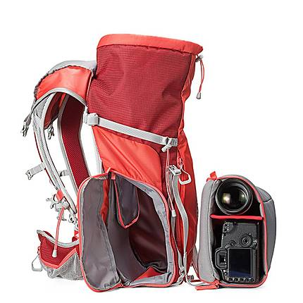 Manfrotto Off Road 30L Red Hiking Backpack | Carry and Support ...
