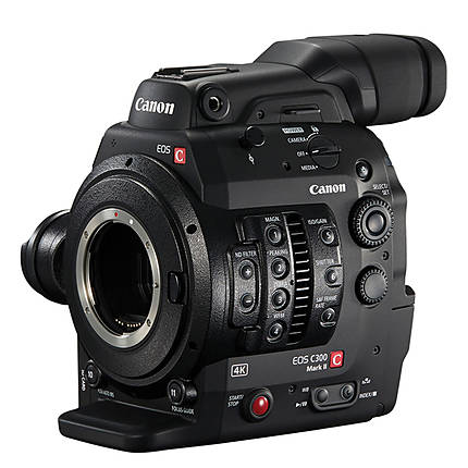 Rental Only - Canon C300 Mark II Cinema EOS Camcorder Body