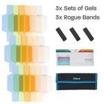 ExpoImaging Rogue Flash Gels Color Correction Kit (3 Sets of 6 Gels)