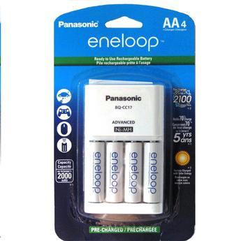 Panasonic K Kj17mca4ba Eneloop Aa 4 Pack With Individual