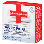 Johnson  and  Johnson Gauze Pads 10ct 2inch x 2inch