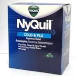 NyQuil Cold and Flu LiquiCaps 2pks Box of 25 2pks **Exp 7/2020 Only**