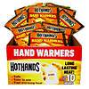 Hot Hands Hand Warmers Tray of 40 Pairs (EXPIRATION JULY 2019 ONLY)