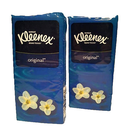 Kleenex Pocket Tissues Travel Pack (15 sheets x 2ply)