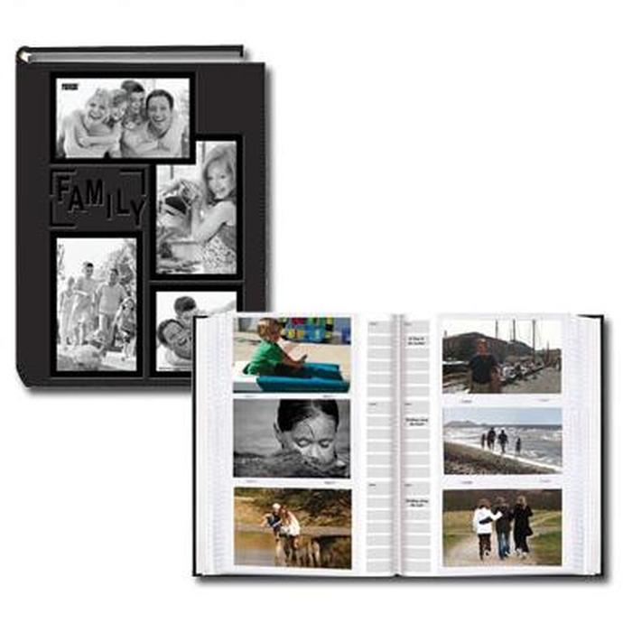 pioneer 4 x 6 in collage frame embossed photo album 300 photos - 4x6 Photo Albums