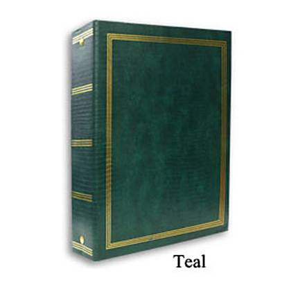 Pioneer 9 x 10 In. Magnetic 3-Ring Photo Album (100 Pages) - Teal Green