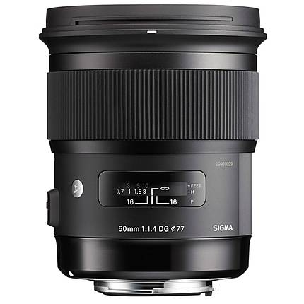 Sigma 50mm f/1.4 EX DG HSM Standard Lens for Canon - Black