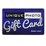 Unique Photo 200 Dollar Gift Card