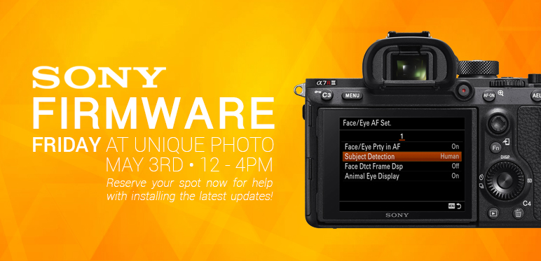 Sony's Firmware Updates for the a9, a7III, & a7RIII! (v5 0