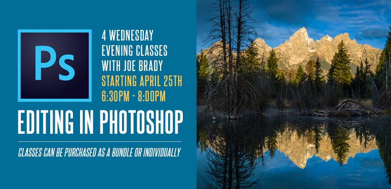 Intro to Image Editing in Photoshop with Joe Brady