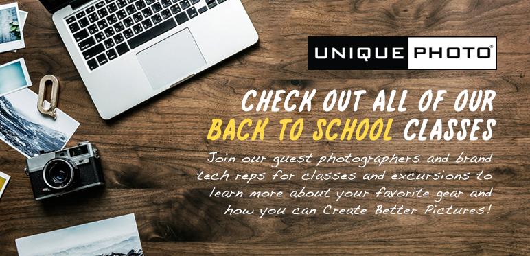 Back to School Classes at Unique Photo