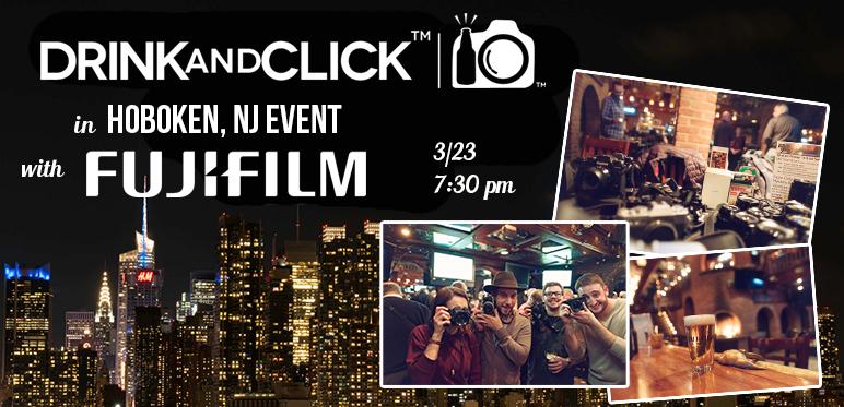 Drink & Click Event Hoboken