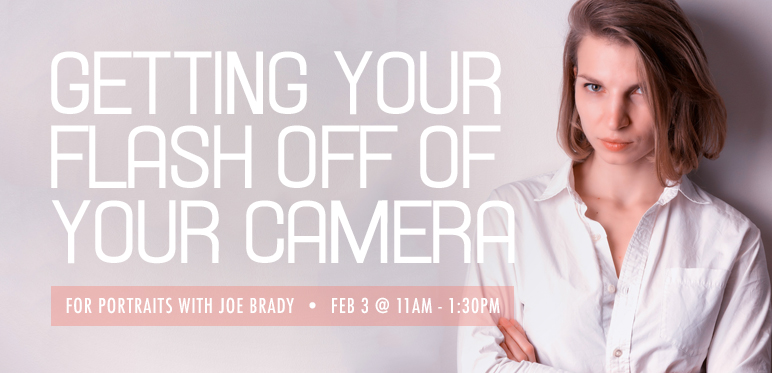 Getting Your Flash Off of Your Camera for Portraits with Joe Brady