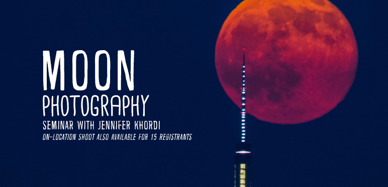 Moon Photography with Jennifer Khordi