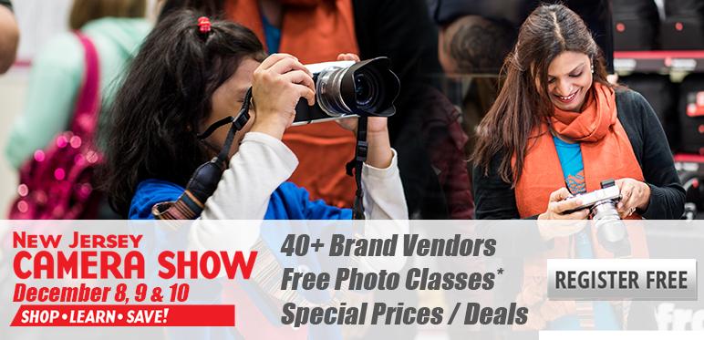 NJ Camera Show, December 8-10