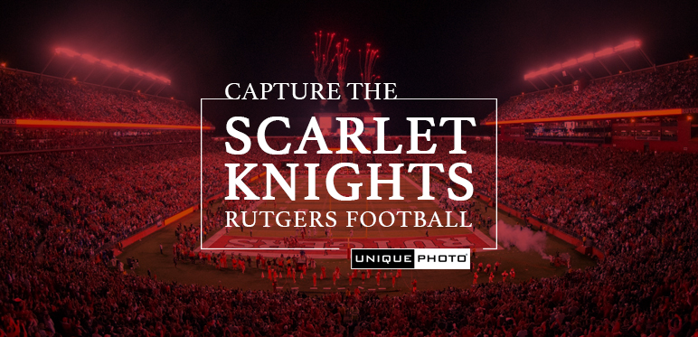 Capture the Rutgers Scarlet Knights with Unique Photo
